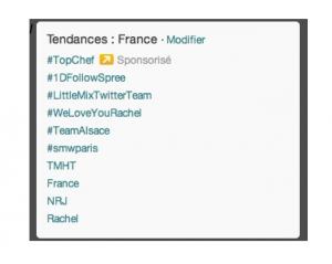 Twitter - Tendances