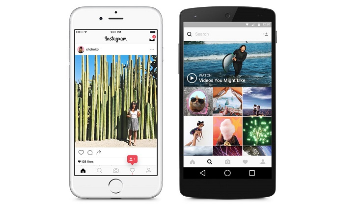 Instagram fait peau neuve- Eyes on Web